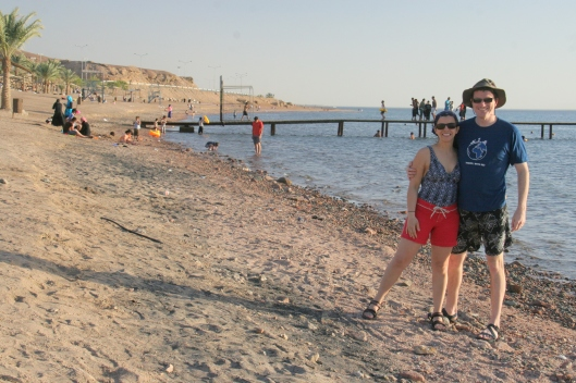 The beach in Aqaba