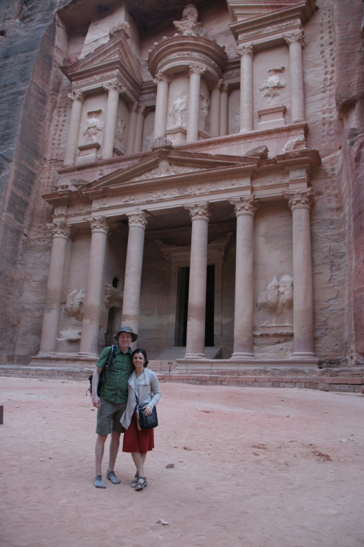 Matt and I at the world-famous Treasury