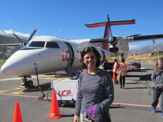 The day I arrived in Huaraz after 4 transfers