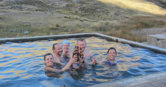 Hot Springs and Cold Beer!