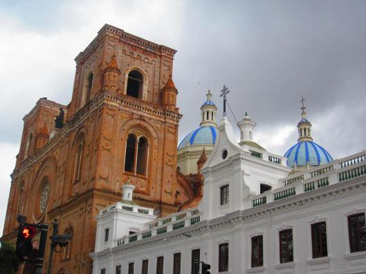The stunning Cathedral in Cuenca