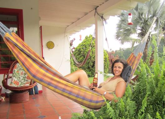 Hammock time at Hacienda Venezia