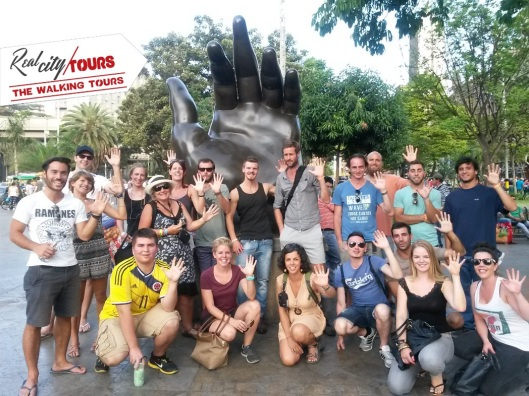 My group on the walking tour