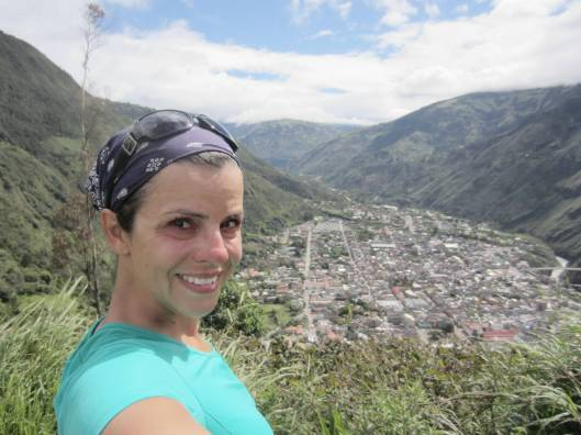 At the Cross or Mirador in Baños