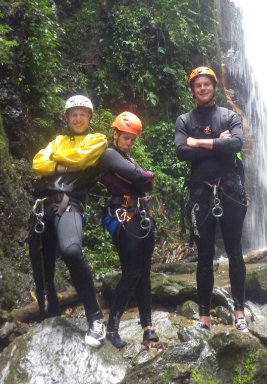 Canyoning with attitude