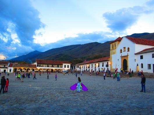 Villa De Leyva's beautiful town square