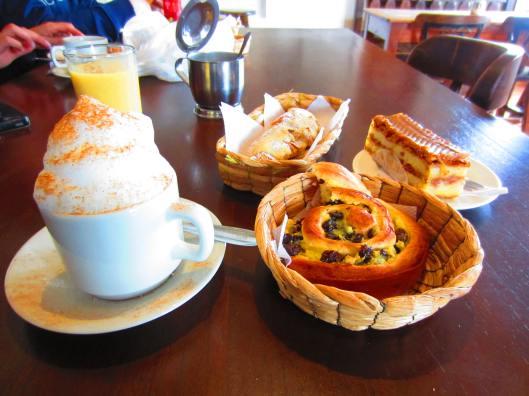 Last breakfast at Pasteleria Francesa