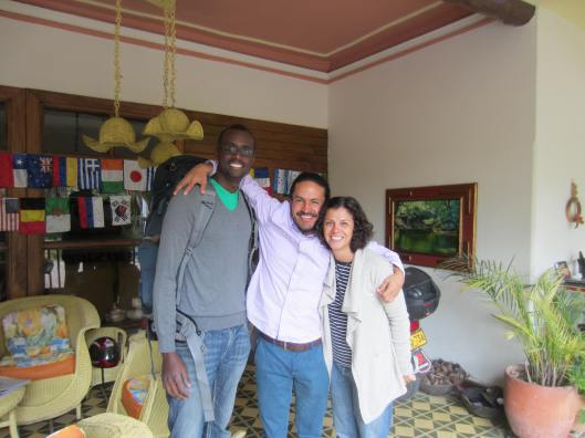 Kwame and I with Juan