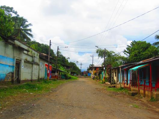 The streets of El Valle