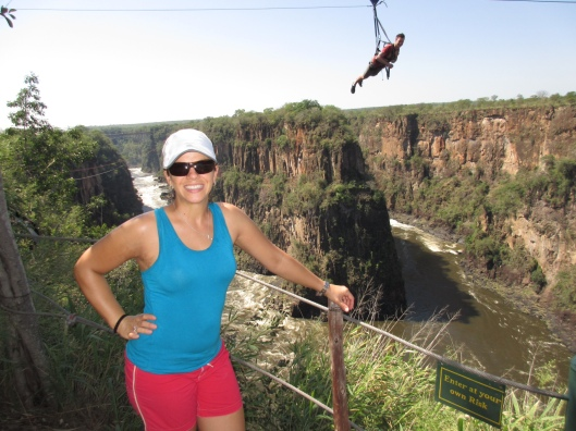 Photo Bombed at Zambezi Gorge