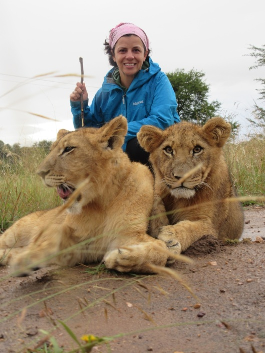 Me and the Lion Cubs
