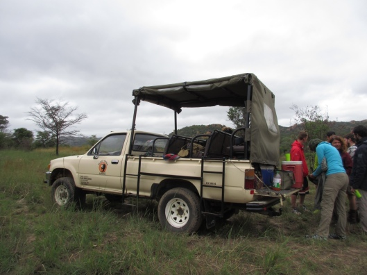 Our Safari Vehicle