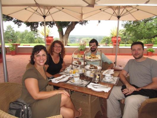 Afternoon Tea at Victoria Falls Hotel