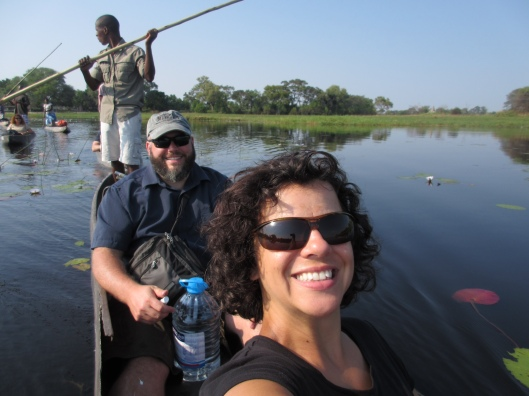 Heading downstream in the Mokoro