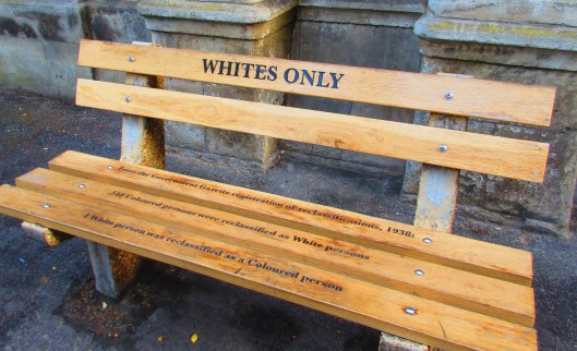 Bench outside city magistrates court