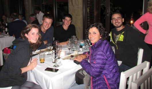 """My """"French"""" evening in Outsdhoorn"""