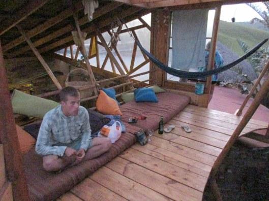 Wild Lubanzi Hostel - so glad to finally arrive