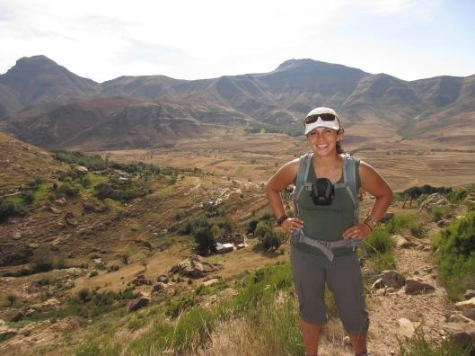 Overlook into Lesotho