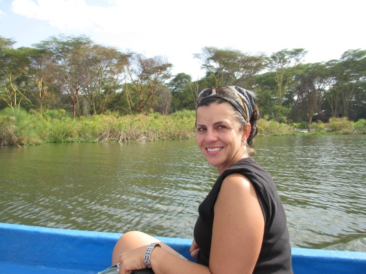 Me on Lake Naivasha