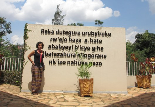 At the Genocide Memorial