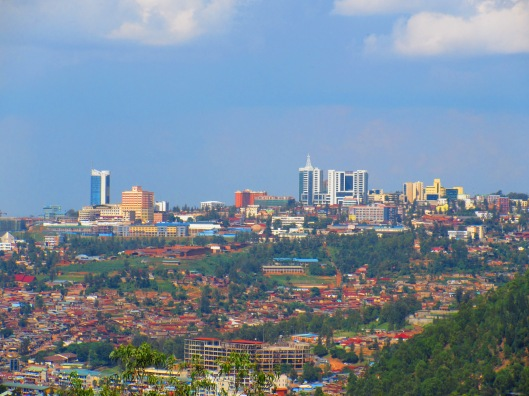 The capital, Kigali